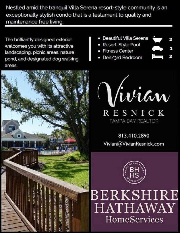 Vivian Resnick Realtor Homeward Real Estate Tampa Florida Luxury Homes Top Realtor Spanish Espanol Agente de Bienes Raices Down Payment Assistance First Time Home Buyers Carrollwood
